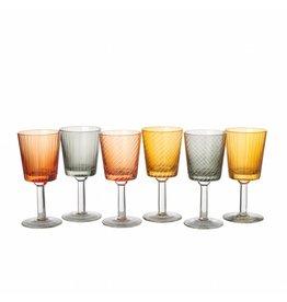 Pols Potten Wine Glasses Library Set of 6
