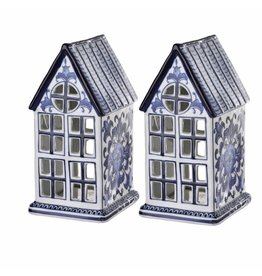 Pols Potten Waxinelight Statue House set of 2