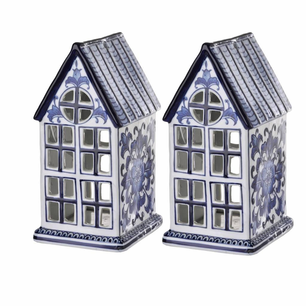 Waxinelight Statue House set of 2