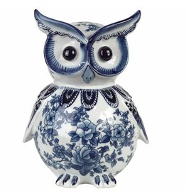 Pols Potten Moneybox Owl
