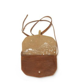 Keecie Move Mountains Bag Cognac