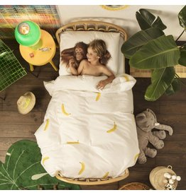 Snurk beddengoed Duvet Cover Banana Monkey Single