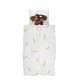 Snurk beddengoed Dekbedovertrek Banana Monkey 1 persoons