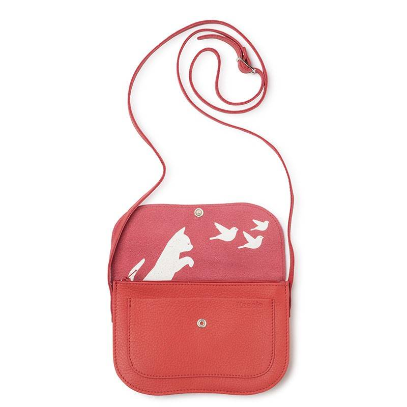 Bag Cat Chase Coral
