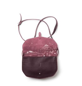 Keecie Move Mountains Tas Aubergine
