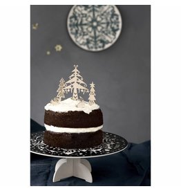 ENGELpunt Houten Cake Toppers Winter