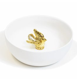 Hollandsche Waaren Bowl of Peace Dove gold
