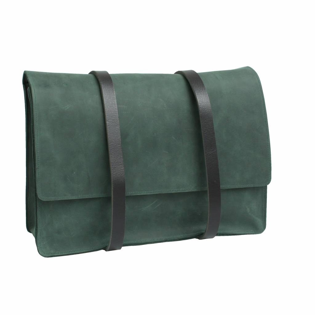 Backpack Green with double strap