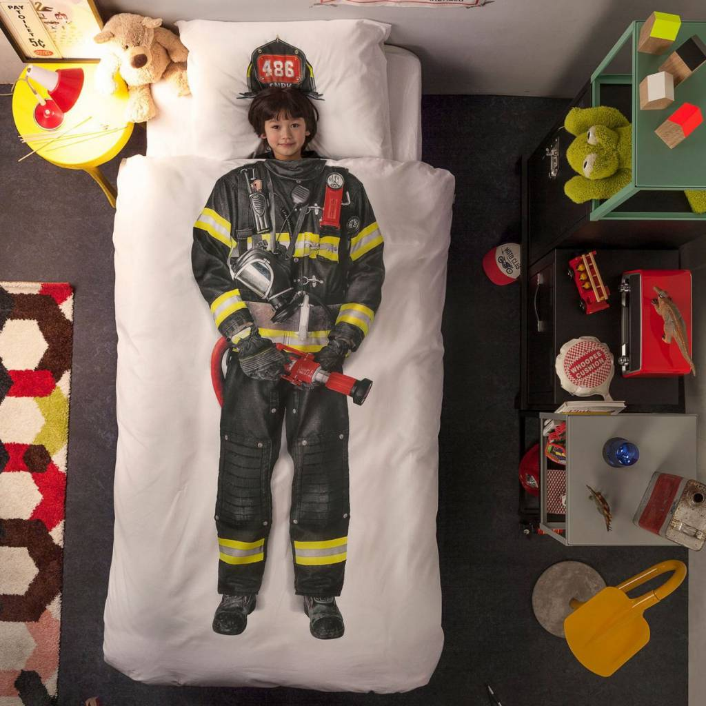 Duvet Cover Firefighter Single