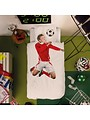 Duvet Cover Soccer Champ Red Single