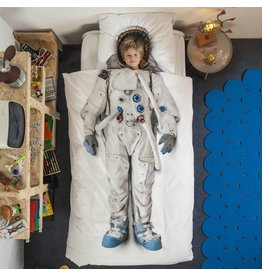 Snurk beddengoed Bettwäsche Astronaut 1-Person
