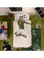 Duvet Cover Soccer Champ Green Single