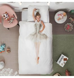 Snurk beddengoed Duvet Cover Ballerina Single