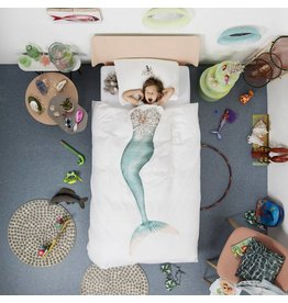 Snurk beddengoed Duvet Cover Mermaid Single