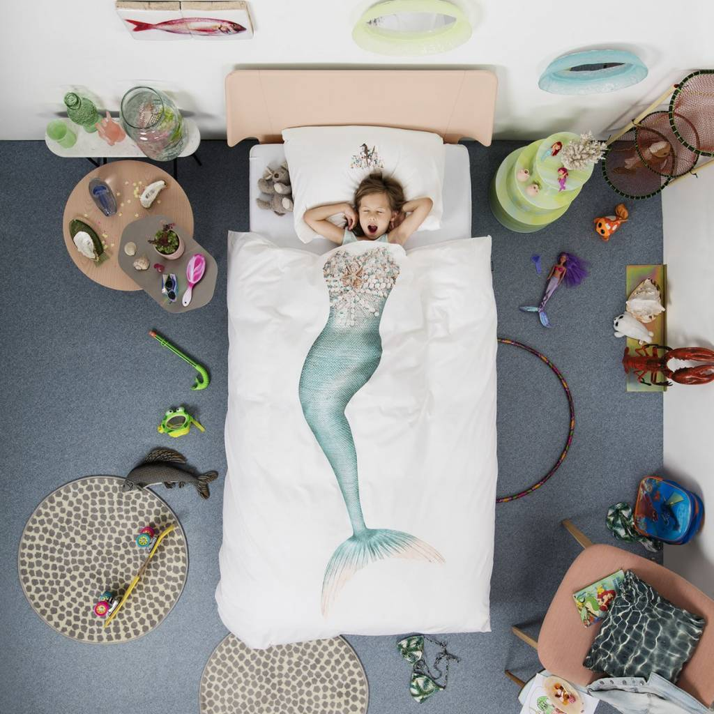 Duvet Cover Mermaid Single