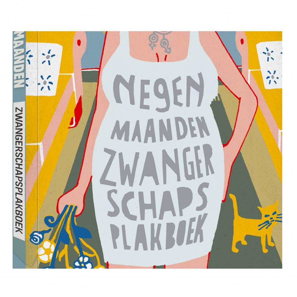 Nine months of pregnancy scrapbook Dutch