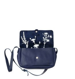 Keecie Bag Picking Flowers Inkblue