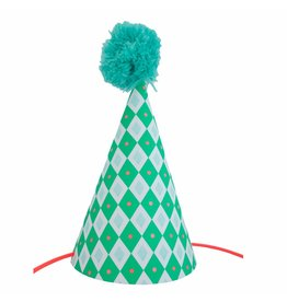 ENGELpunt Postcard Party Hat Checkered