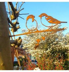 Metalbird Sparrow couple