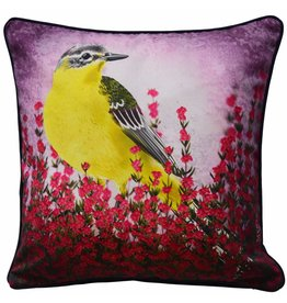 Myrte Cushion cover Yellow Wagtail