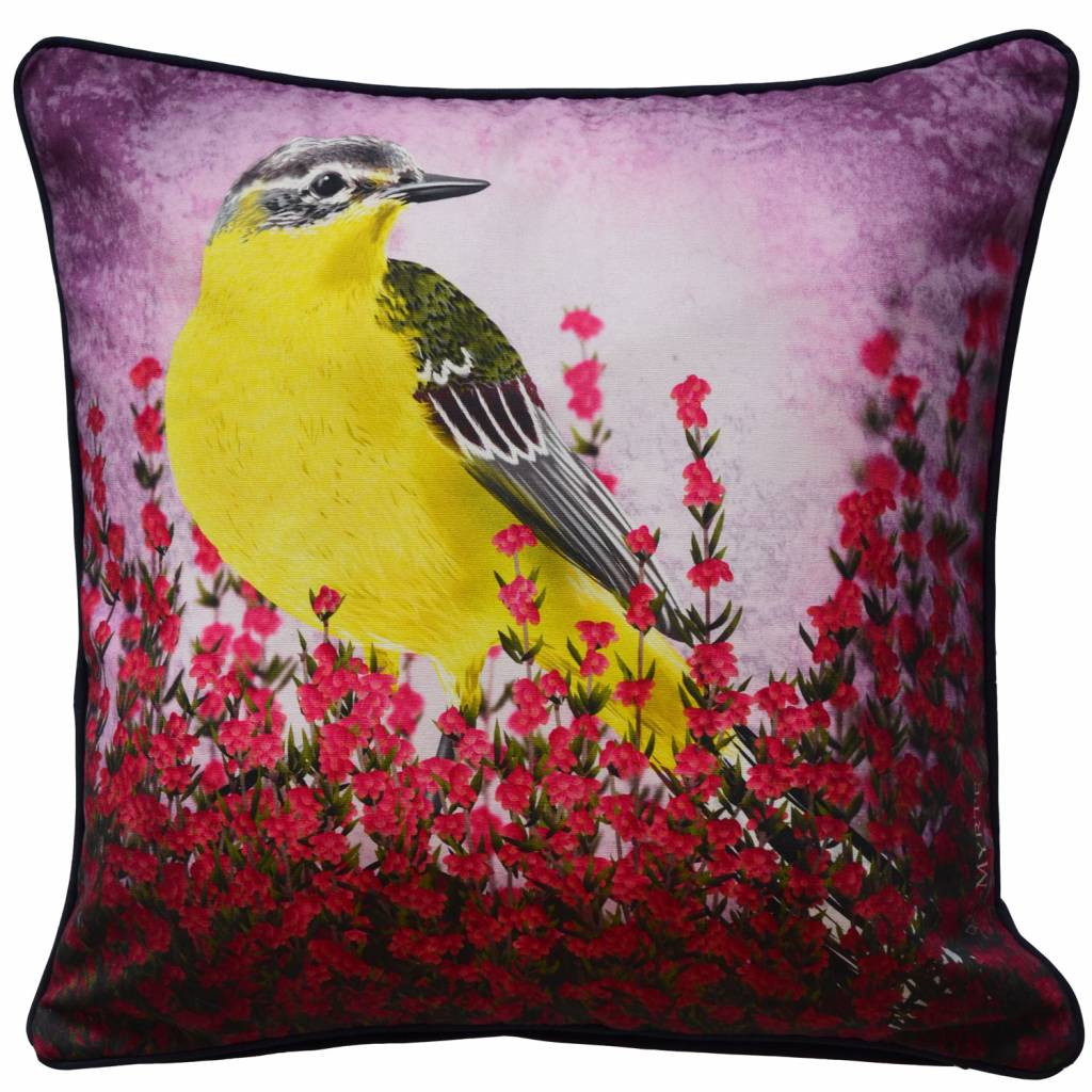 Cushion cover Yellow Wagtail