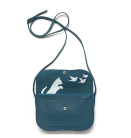 Keecie Bag Cat Chase Faded Blue