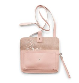 Keecie Tas Monkey Tree Soft Pink