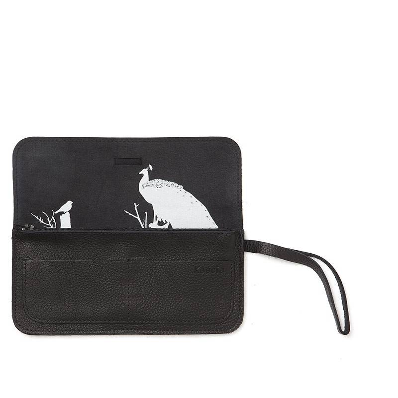 Clutch/Portemonnaie Top Secret Schwarz