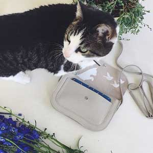 Keecie Cat Chase tas met kat