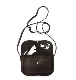 Keecie Bag Cat Chase Black