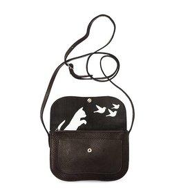 Keecie Bag Cat Chase Black