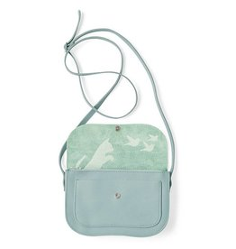 Keecie Bag Cat Chase Dusty Green