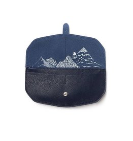 Keecie Wallet Move Mountains Inkblue