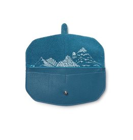 Keecie Wallet Move Mountains Faded Blue
