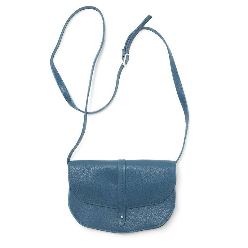 Move Mountains Tasche Faded Blue