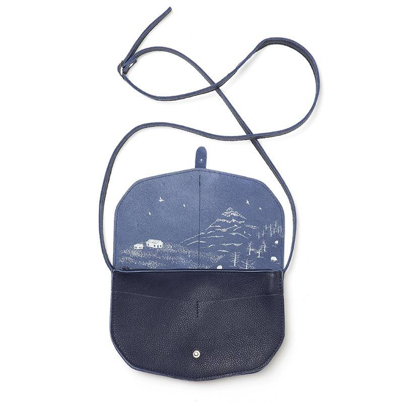 Move Mountains Tasche Inkblue