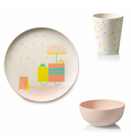 ENGELpunt Bamboo Children's Tableware Ice Cream