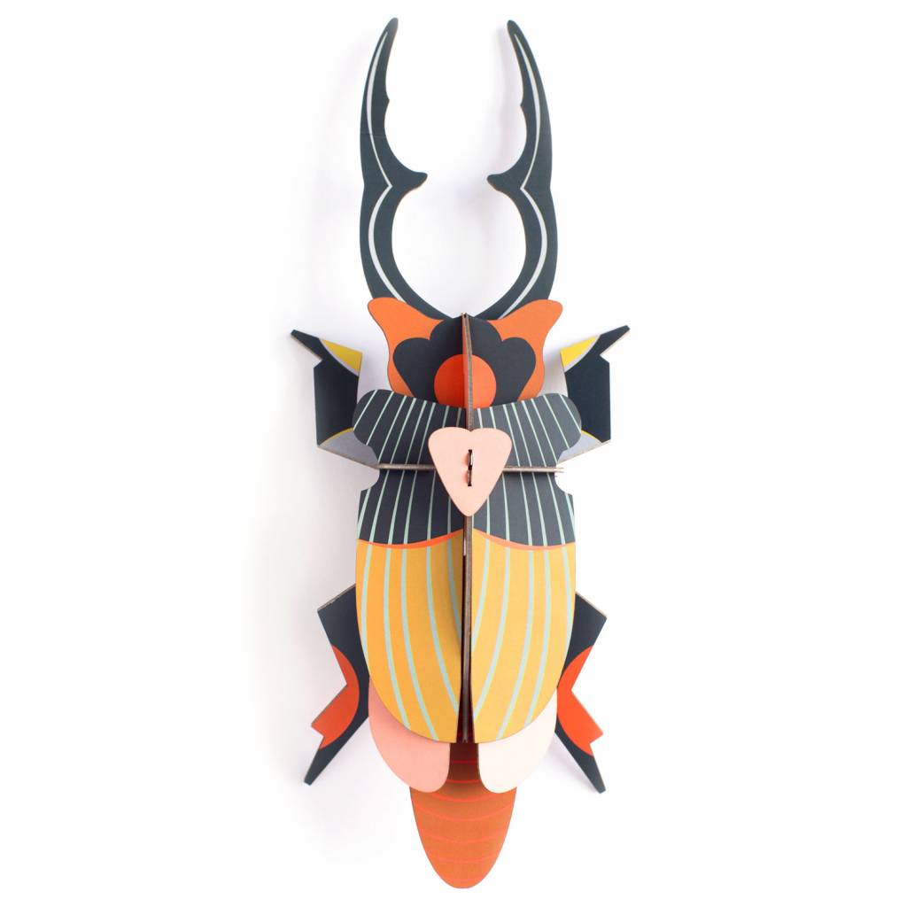 Giant Stag Beetle Wall Decoration