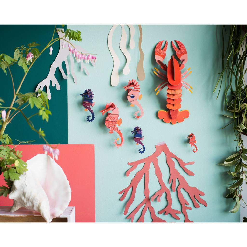 Seahorses Wall Decoration