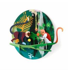 Studio ROOF Totem Dschungel-Affen