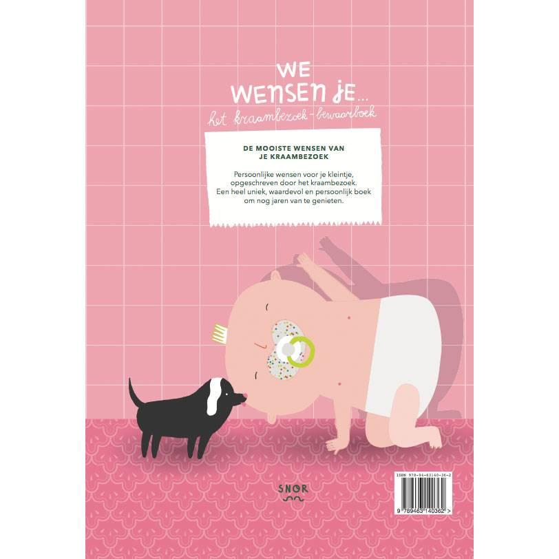 Besuch im Wochenbett Aufbewahrungsbuch Niederländisch