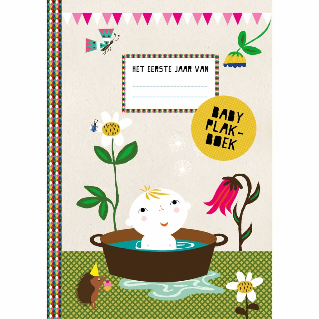 Baby Scrapbook - The first year of.. Dutch