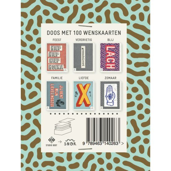 Kiss Kiss and 99 other greeting cards Dutch