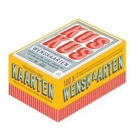 Uitgeverij Snor Kus Kus en 99 andere wenskaarten
