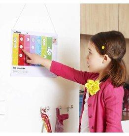 Gezinnig Week planner child (NL)