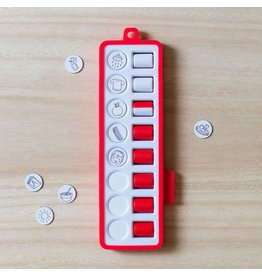 Gezinnig Checkpad rood