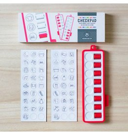 Gezinnig Checkpad red