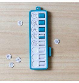Gezinnig Checkpad blauw