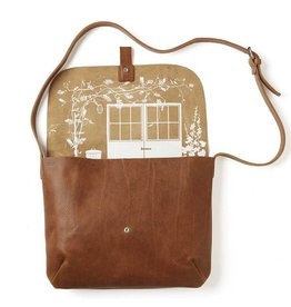 Keecie Tasche Backyard Cognac used look