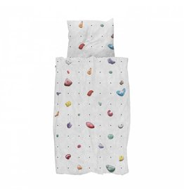 Snurk beddengoed Duvet cover Climbing Wall 1 person